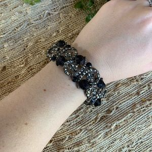 Jewelry - Black and silver statement bracelet